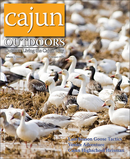 Cajun Outdoor Magazine, January 2009 (Vol I, Issue 2)