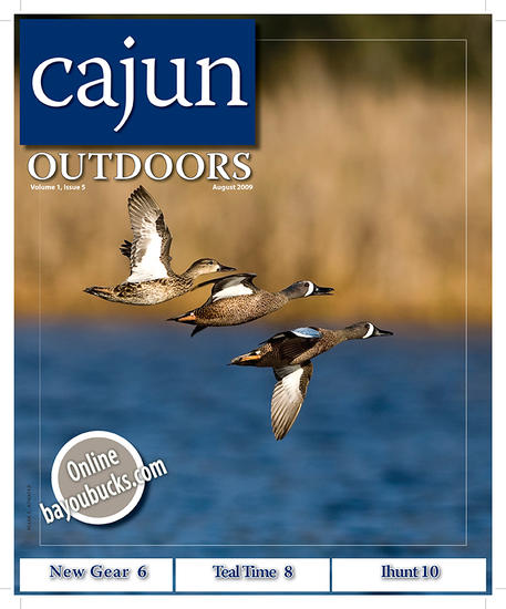 Cajun Outdoor Magazine, August 2009 (Vol. I, Issue 9)